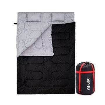 二人用おすすめ寝袋・シュラフ1