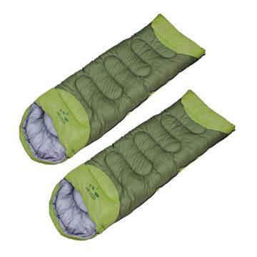 二人用おすすめ寝袋・シュラフ6